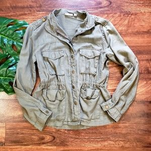 New York & Co. Military Style Jacket